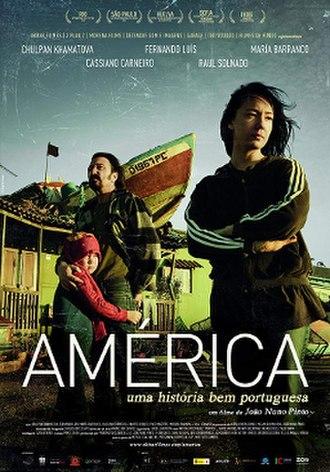 América (2011 Portuguese film) - Image: América 2011 Portuguese poster