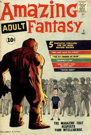 Amazing Fantasy - Image: Amazing Adult Fantasy issue 7