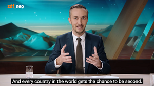 Every Second Counts (video contest) - Jan Böhmermann launches the video contest.