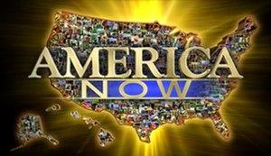 America Now - Image: America Now Logo