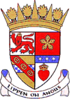 Coat of arms of Angus Aonghas