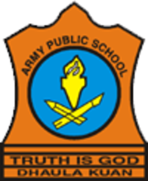 Army Public School, Dhaula Kuan - The School Crest