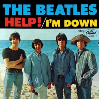 Help! (song) - Image: Beatles help 2