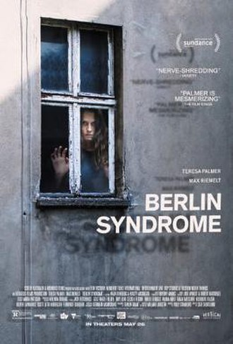 Berlin Syndrome (film) - Theatrical film poster