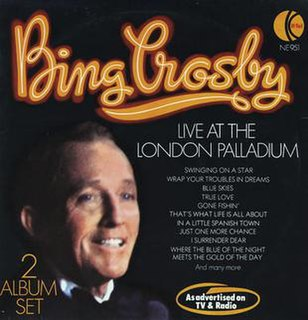 1976 live album by Bing Crosby
