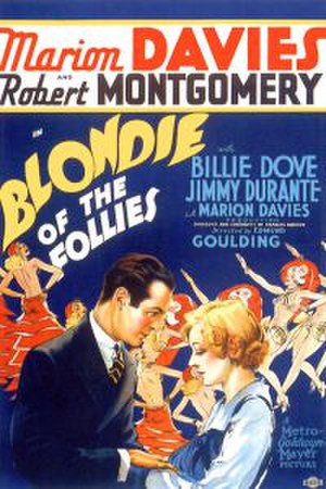 Blondie of the Follies - Theatrical poster