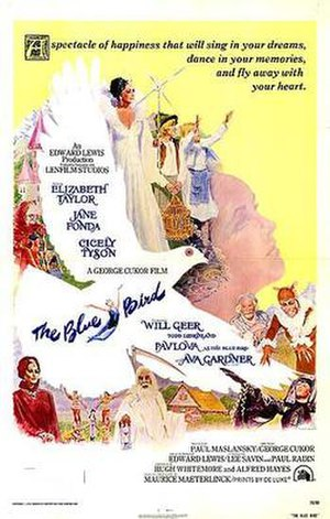 The Blue Bird (1976 film) - Theatrical Film Poster