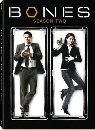 Bones (season 2) - Image: Bones s 2 dvd