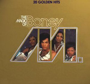 The Magic of Boney M. – 20 Golden Hits - Image: Boney M. The Magic Of Boney M. (1980)