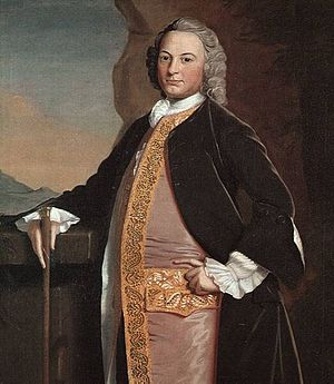 1748 in art - Robert Feke - Portrait of William Bowdoin
