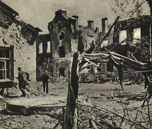 Defense of Brest Fortress - German soldiers in the Citadel in June 1941