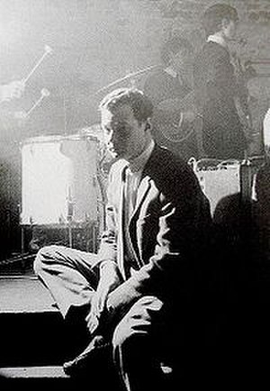 The Beatles at The Cavern Club - Brian Epstein at The Cavern Club in 1963