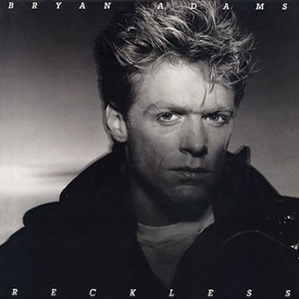 Reckless (Bryan Adams album) - Image: Bryan Adams Reckless