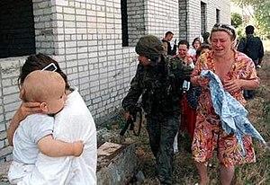 Budyonnovsk hospital hostage crisis - Hostages released from the hospital at Budyonnovsk