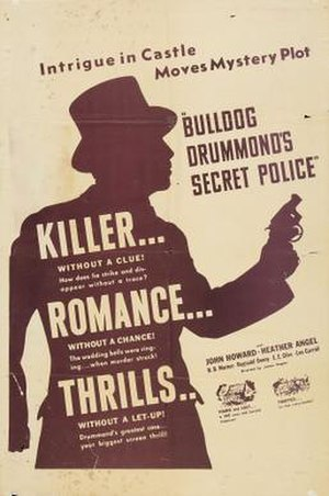 Bulldog Drummond's Secret Police - Image: Bulldog Drummond's Secret Police Film Poster
