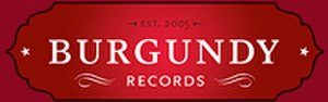 Burgundy Records - Burgundy logo