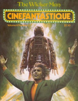 Cinefantastique - Cover of the Winter 1977 issue (Vol. 6 No. 3) of Cinefantastique