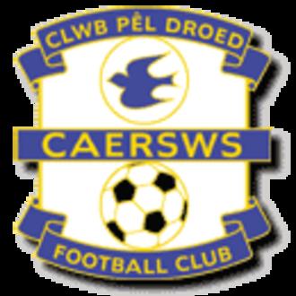 Caersws F.C. - Image: Caersws FC