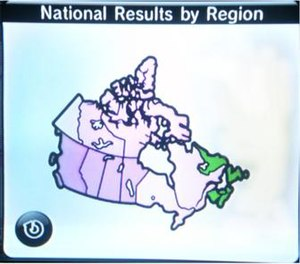 Everybody Votes Channel - Alternately, Canadian results concerning if one would prefer to live by the Pacific Ocean or Atlantic Ocean. Atlantic Canada would prefer the Atlantic, while the rest of the country would prefer the Pacific.