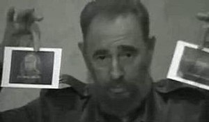 638 Ways to Kill Castro - A screenshot of Fidel Castro from the documentary trailer