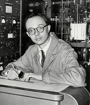 Cesare Emiliani - Cesare Emiliani in the early 1950s while conducting pioneering research at the University of Chicago. (Photo: Archives of the Rosenstiel School of Marine and Atmospheric Science, University of Miami)