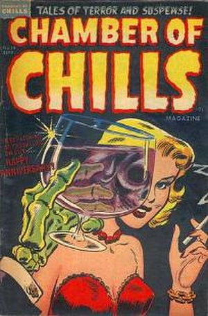 Die, Die My Darling - The cover of the single was derived from issue 19 of Chamber of Chills, September 1953.