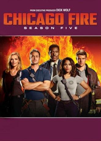 Chicago Fire (season 5) - Season 5 U.S. DVD cover