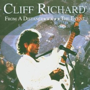From a Distance: The Event - Image: Cliff Richard From a Distance The Event album cover