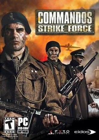 Commandos: Strike Force - Cover art