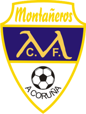 Montañeros CF - Image: Cor Montaneros CF