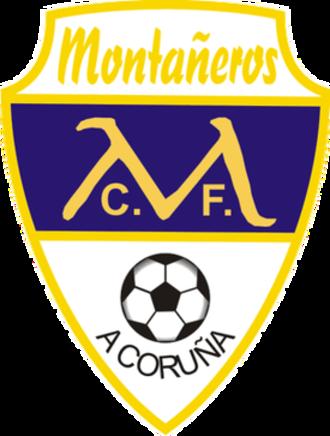 Atlético Coruña Montañeros CF - Montañeros CF old logo