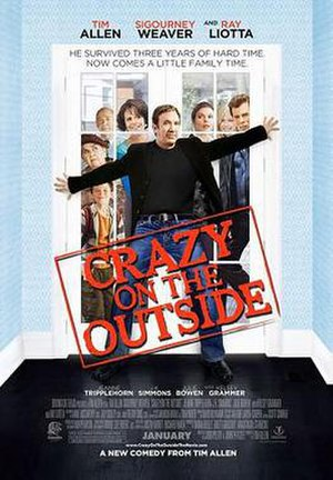 Crazy on the Outside - Theatrical release poster