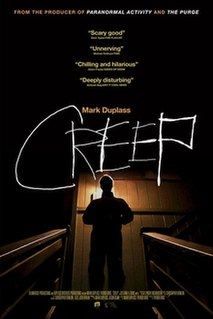 <i>Creep</i> (2014 film) 2014 film by Patrick Brice