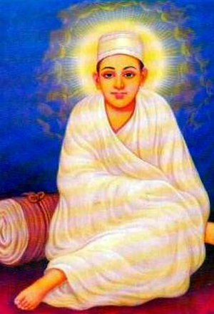 Dadu Dayal - Indian devotional image of Dadu