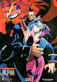 <i>Night Warriors: Darkstalkers Revenge</i> (anime) Original video animated series