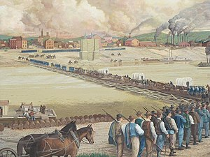 Defense of Cincinnati - Image: Defense of Cincinnati Mural
