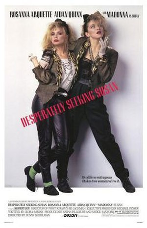 Desperately Seeking Susan - Theatrical release poster