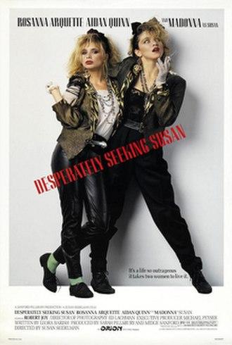 Desperately Seeking Susan - Theatrical release poster
