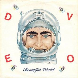 Beautiful World (Devo song) - Image: Devo beautiful world virgin