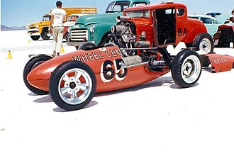 Bonneville Speedway - Dick Beith's Pepco Supercharged VW Lakester