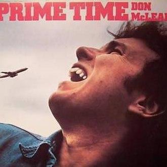 Prime Time (Don McLean album) - Image: Don Mc Lean Prime Time