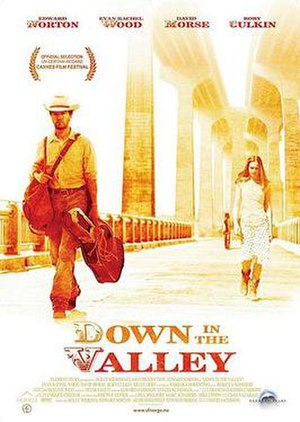 Down in the Valley (film) - Image: Downinthevalley poster