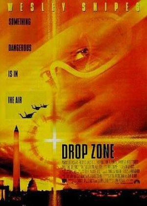 Drop Zone (film) - Theatrical release poster