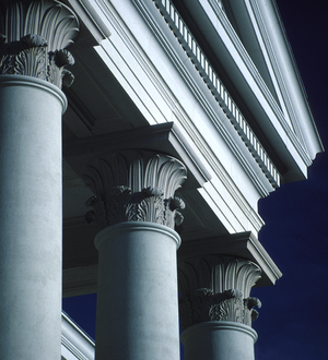Allan Greenberg - Image: Dupont Hall Portico detail