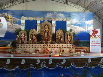 Durga Puja Celebrations in Singapore arranged ...