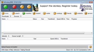 EDonkey2000 - Image: E Donkey 2000 screenshot