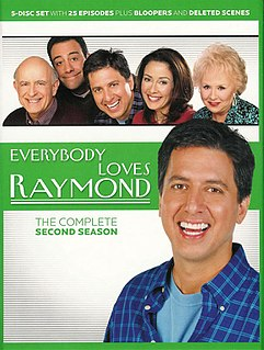 <i>Everybody Loves Raymond</i> (season 2) season of television series