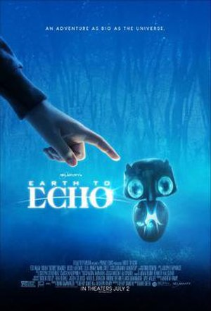Earth to Echo - Theatrical release poster