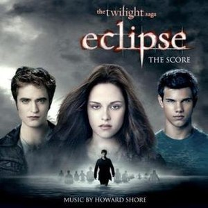 The Twilight Saga: Eclipse (soundtrack) - Image: Eclipse Score