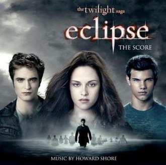 The Twilight Saga: Eclipse (soundtrack) - Image: Eclipse Score